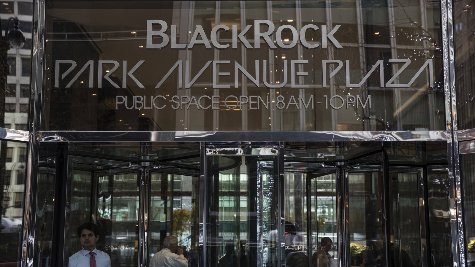 BlackRock's headquarters in New York. Photo by Bloomberg.
