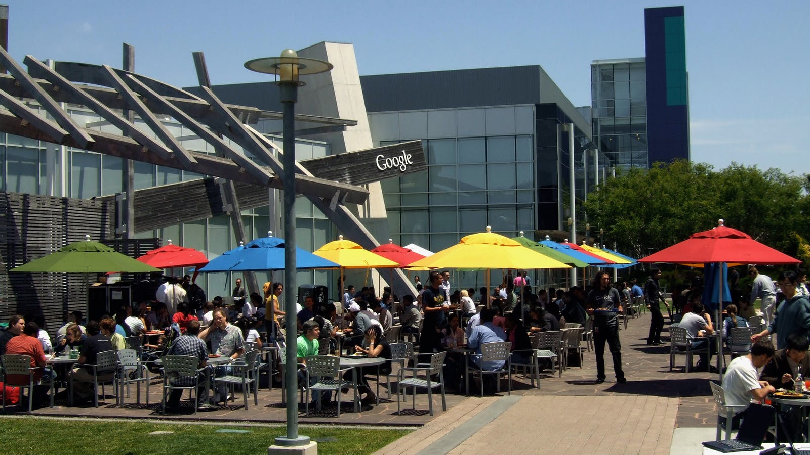 Google's campus. Photo by Flickr/Fotinakis.