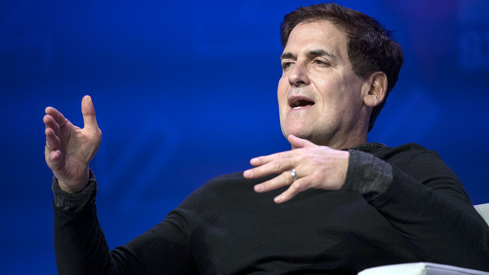 Mark Cuban. Photo by Bloomberg.