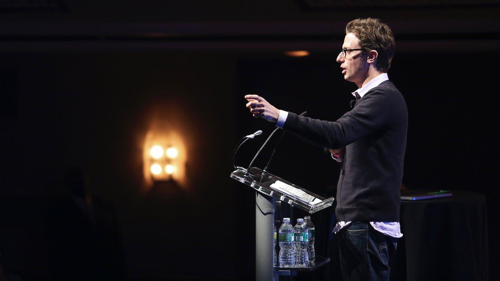 BuzzFeed CEO Jonah Peretti. Photo by Flickr/TCDNY 2013.