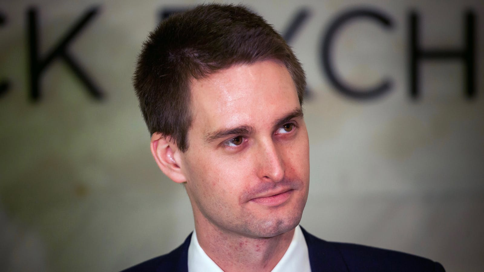 Snap CEO Evan Spiegel. Photo by Bloomberg.