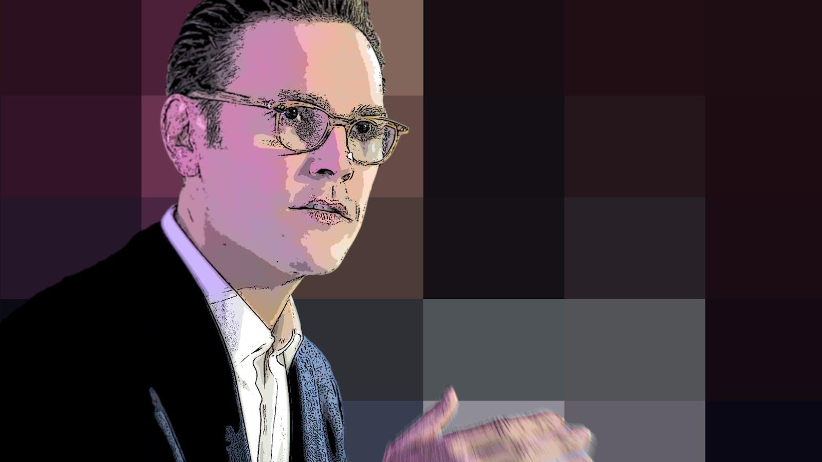 James Murdoch. Art by Matt Vascellaro.