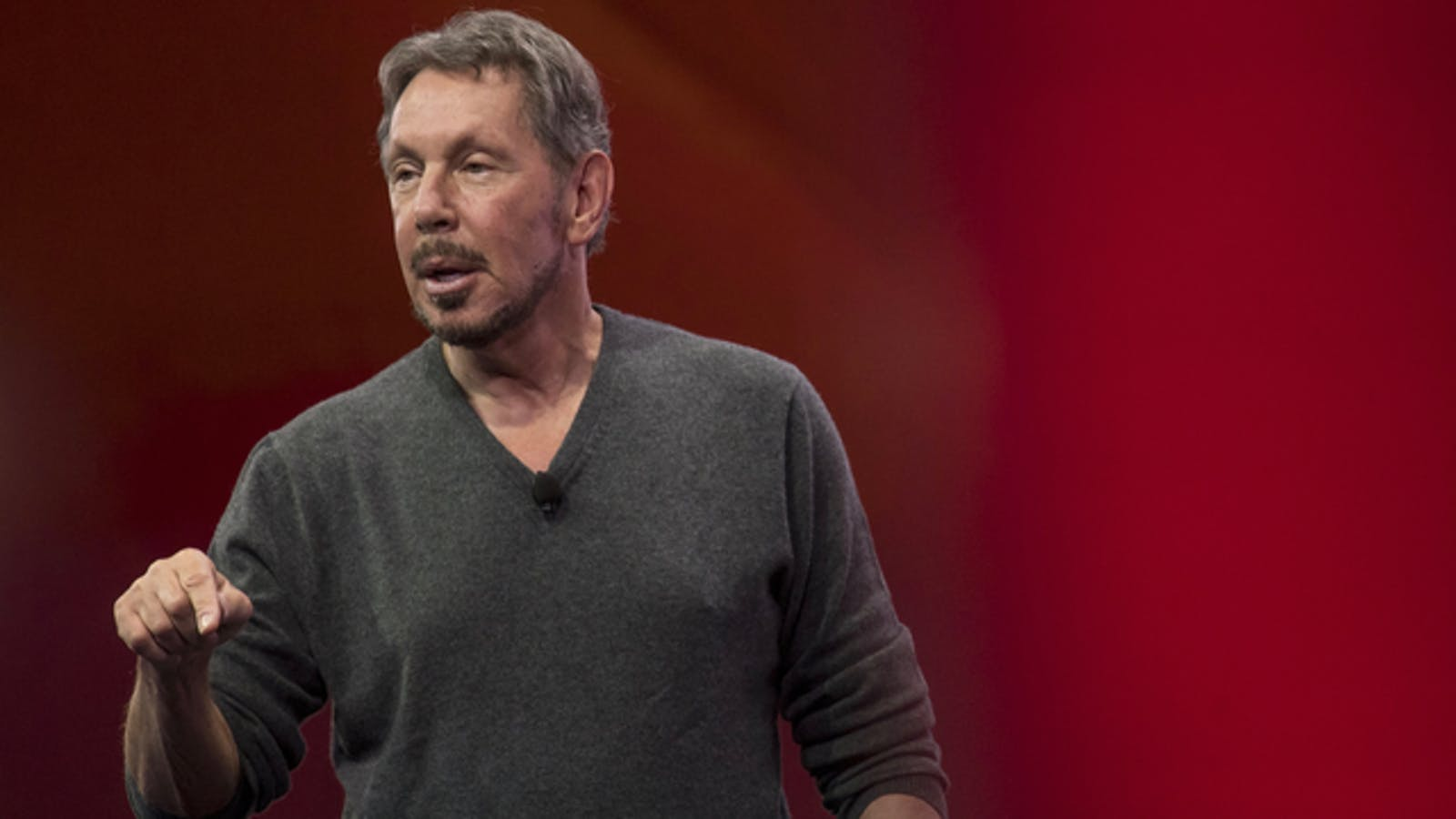Oracle Chairman Larry Ellison. Photo by Bloomberg.