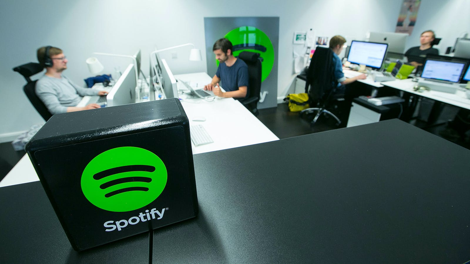 Spotify's offices in Berlin. Photo: Bloomberg