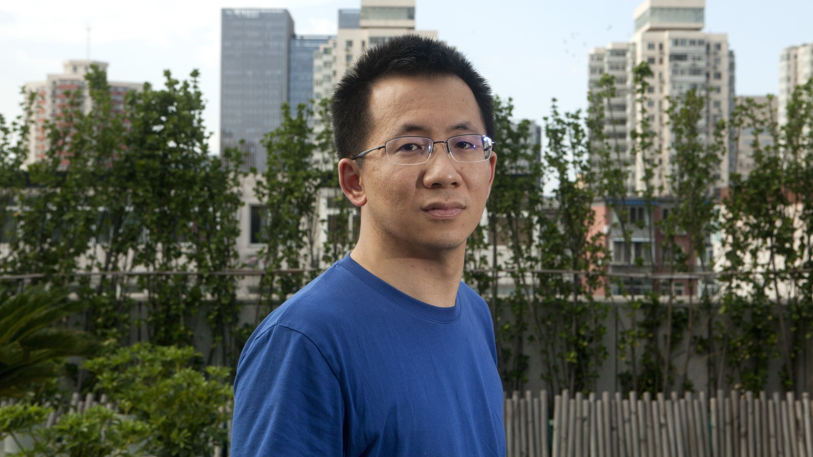 Bytedance  founder Zhang Yiming. Photo by Bloomberg.