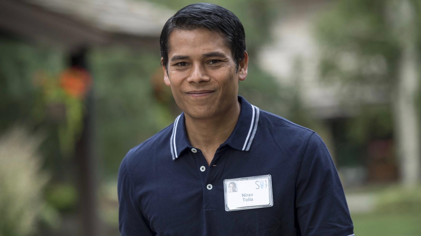 Nextdoor CEO  CEO Nirav Tolia. Photo by Bloomberg.