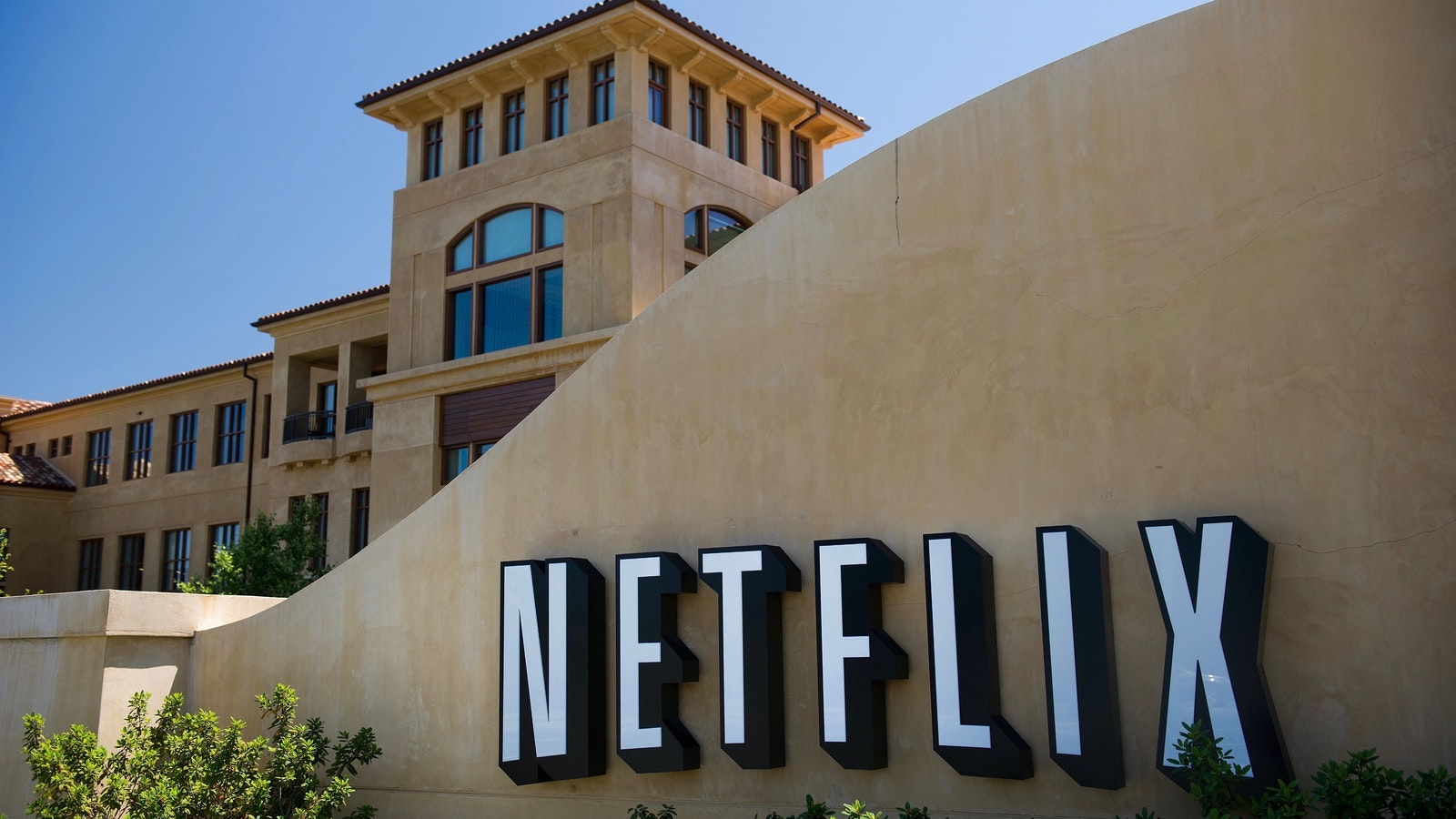 Netflix's headquarters in Los Gatos, Calif. Photo by Bloomberg.