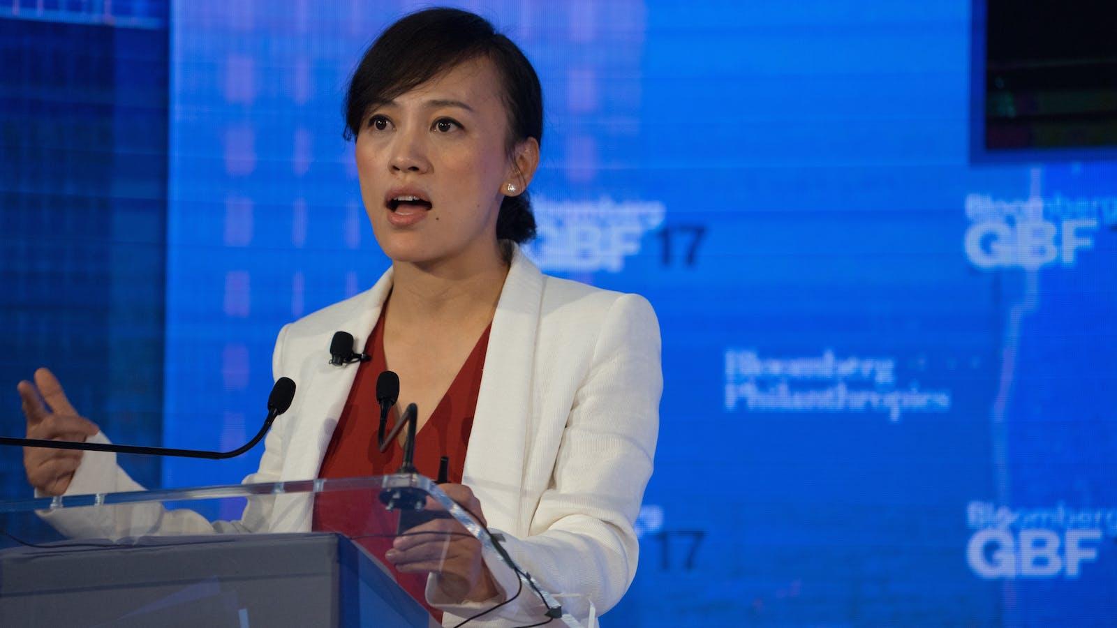 Didi President Jean Liu. Photo by Bloomberg.
