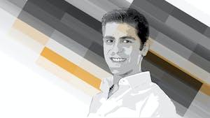 Amazon Prime head Akshay Sahi. Art: Matt Vascellaro