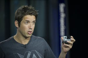GoPro CEO Nick Woodman. Photo by Bloomberg.