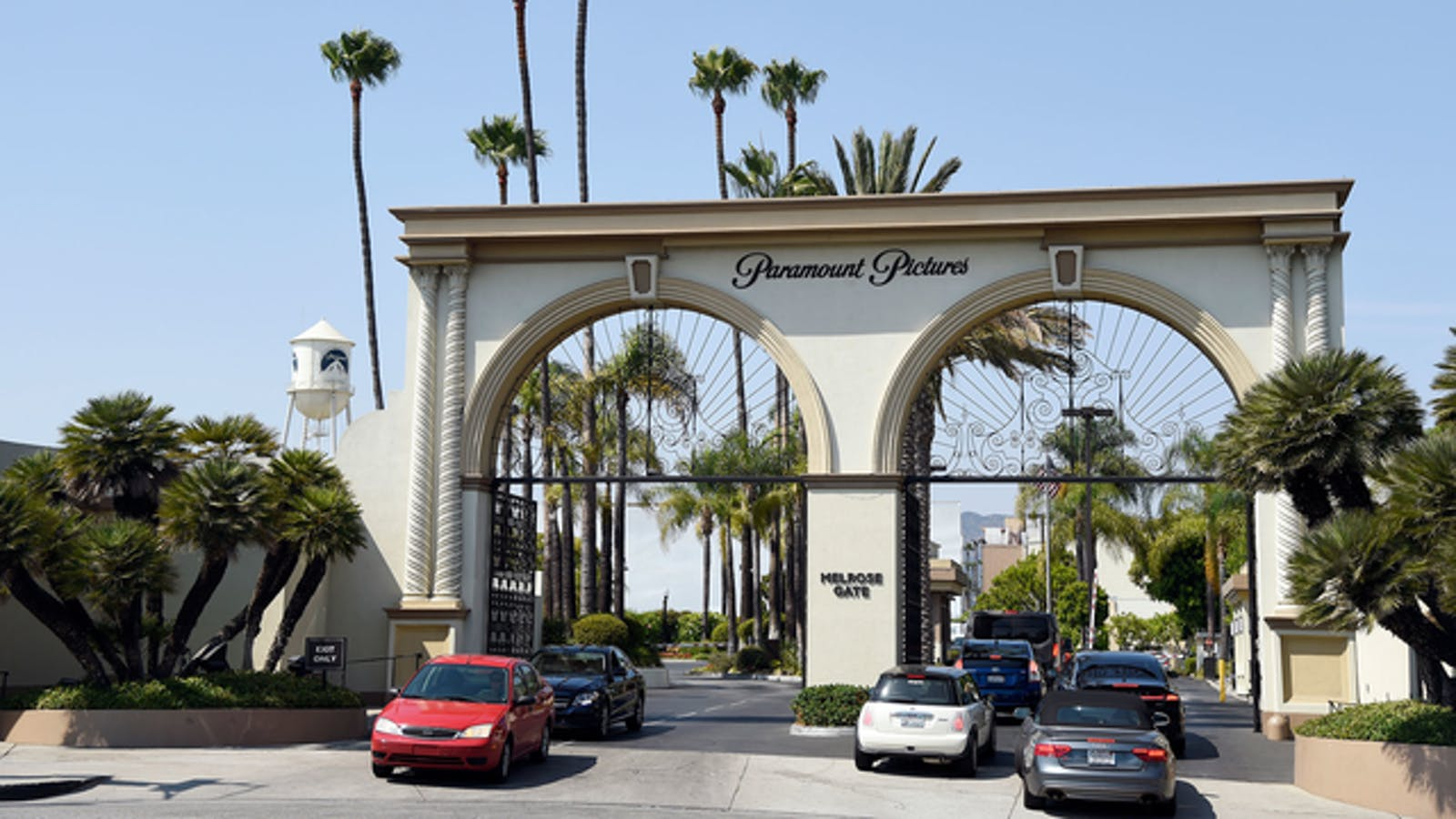 Paramount Pictures' studio lot in Hollywood. Photo by AP.