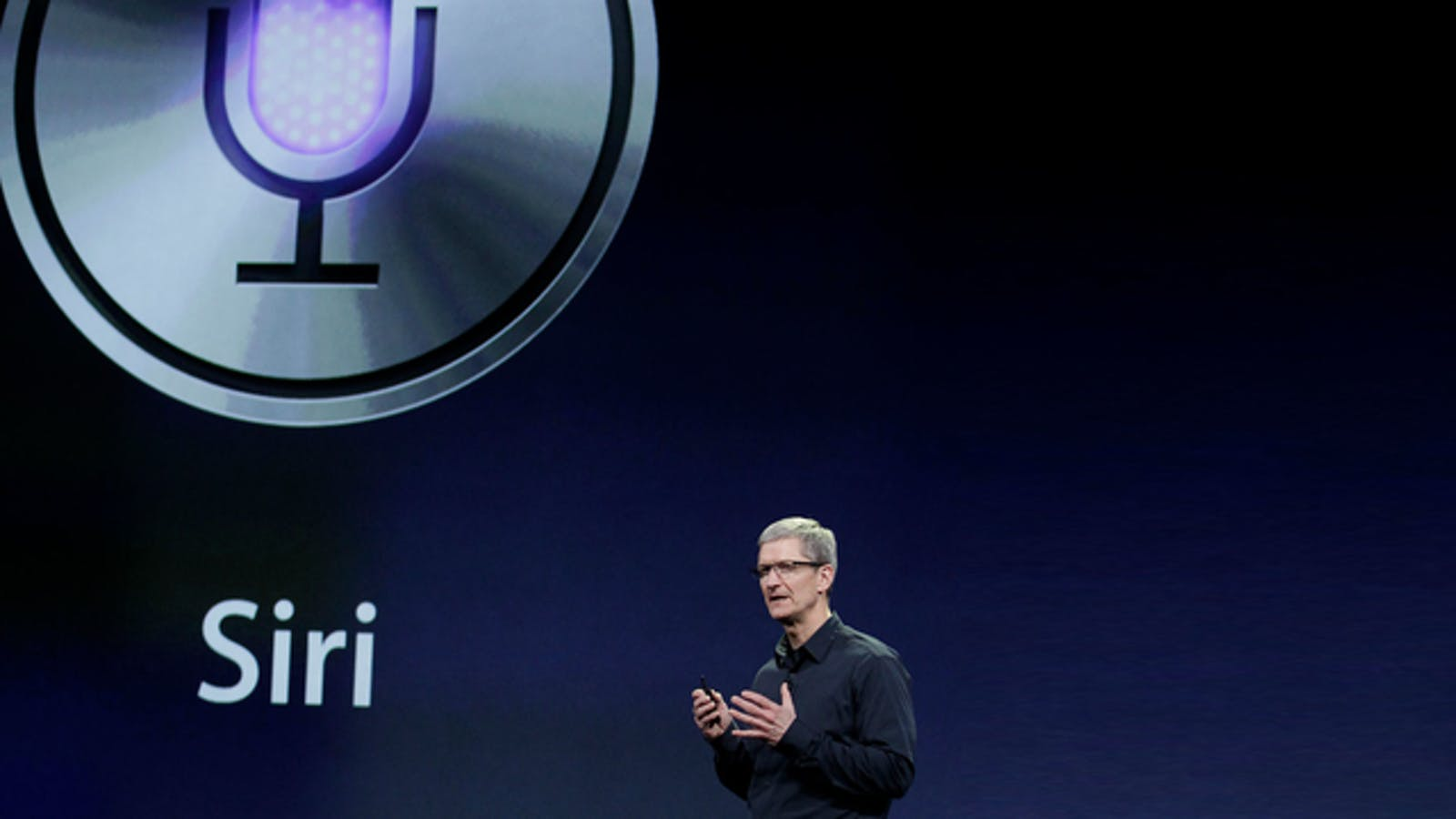 Apple CEO Tim Cook at an event in 2012. Photo by AP.