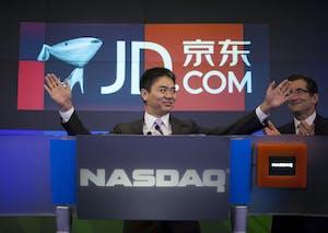 JD.com founder Richard Liu Qiangdong. Photo by Bloomberg.