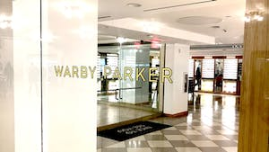 A Warby Parker store in New York. Photo by Mike Sullivan