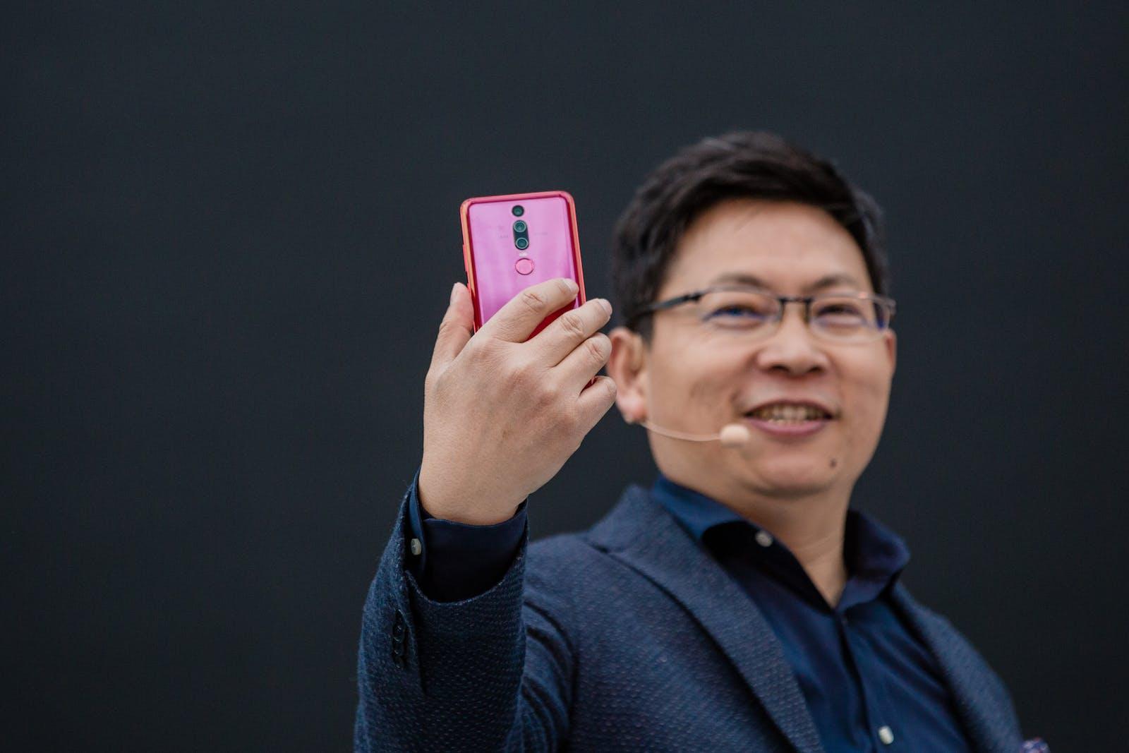 Huawei CEO Richard Yu. Photo: Bloomberg
