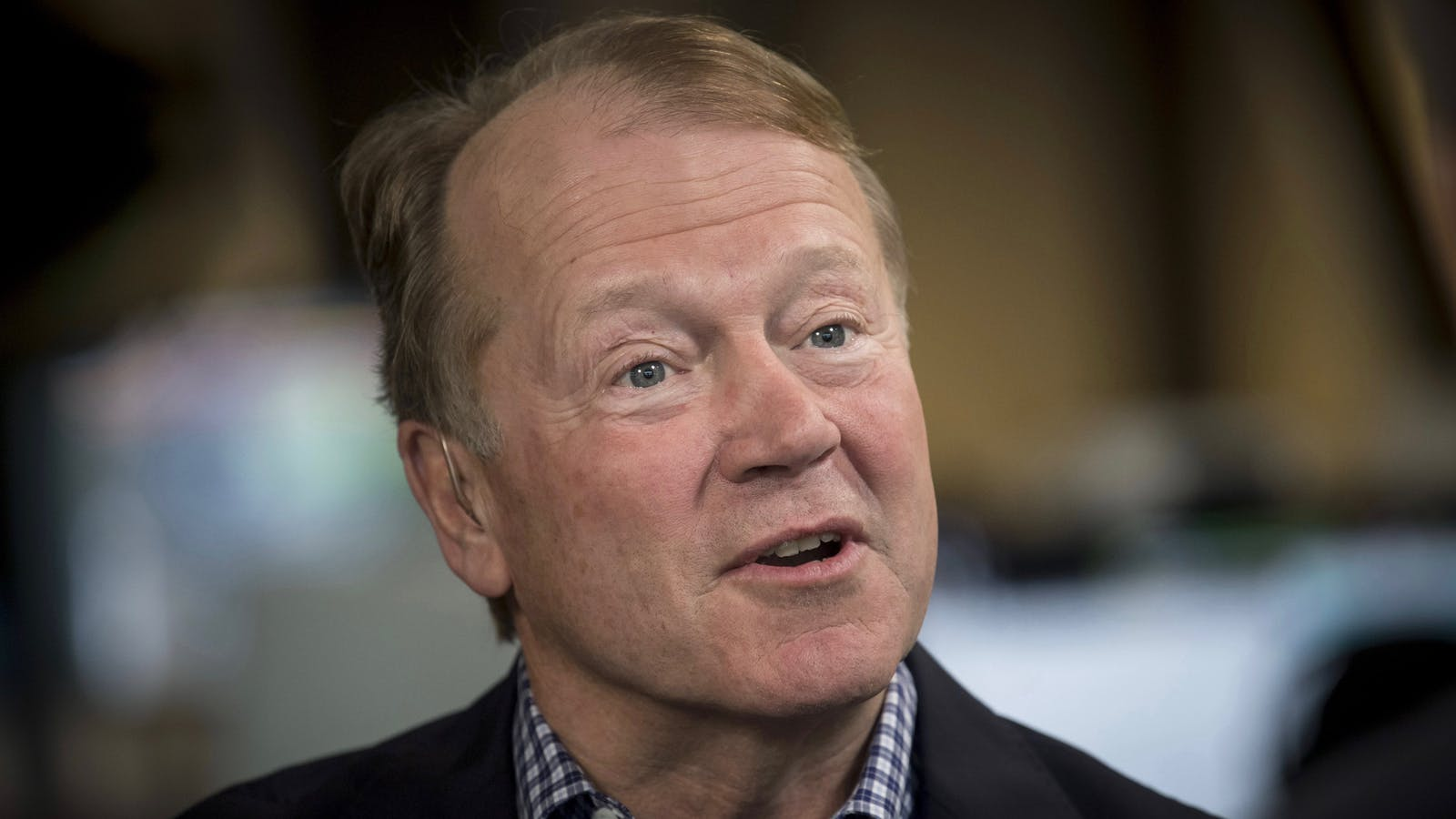 John Chambers. Photo by Bloomberg.