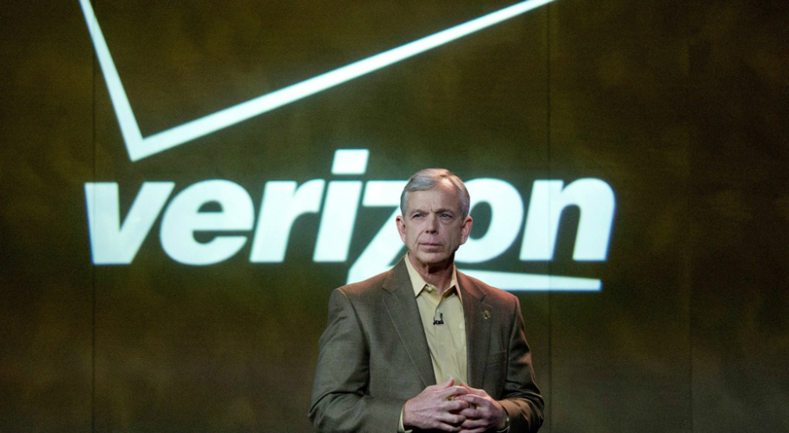 Verizon Communications CEO Lowell McAdam. Photo by Bloomberg.