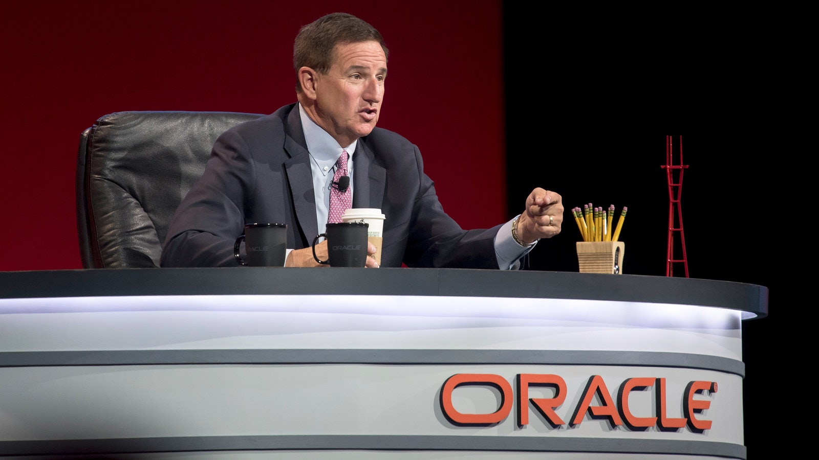 Oracle CEO Mark Hurd. Photo by Bloomberg