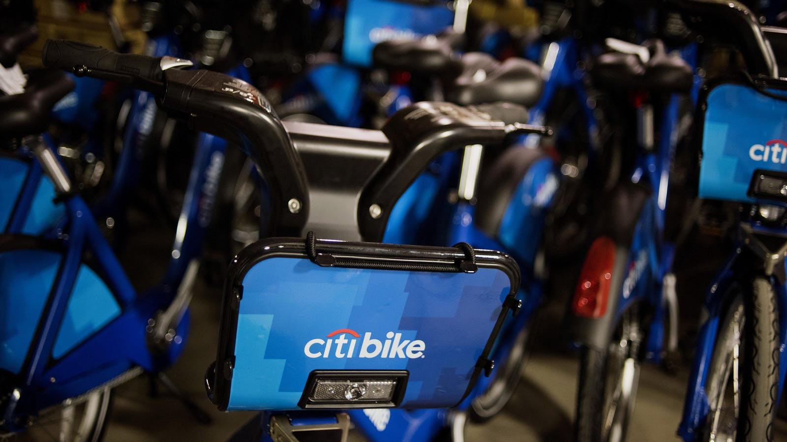 Citibike bicycles, which are operated by Motivate. Photo by Bloomberg.