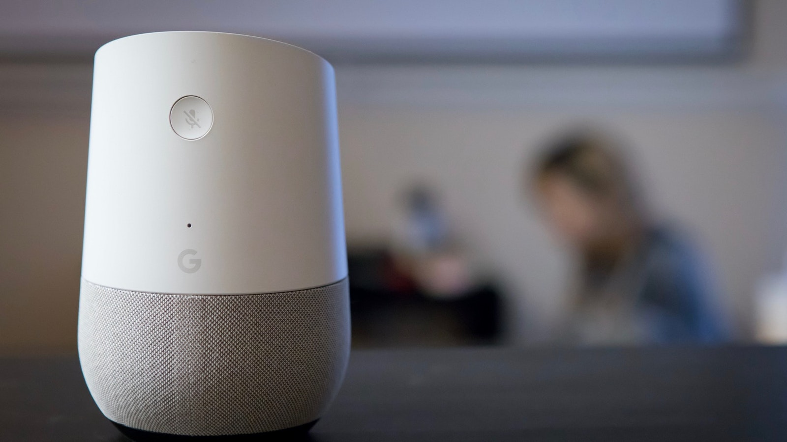 A Google Home speaker. Photo: AP