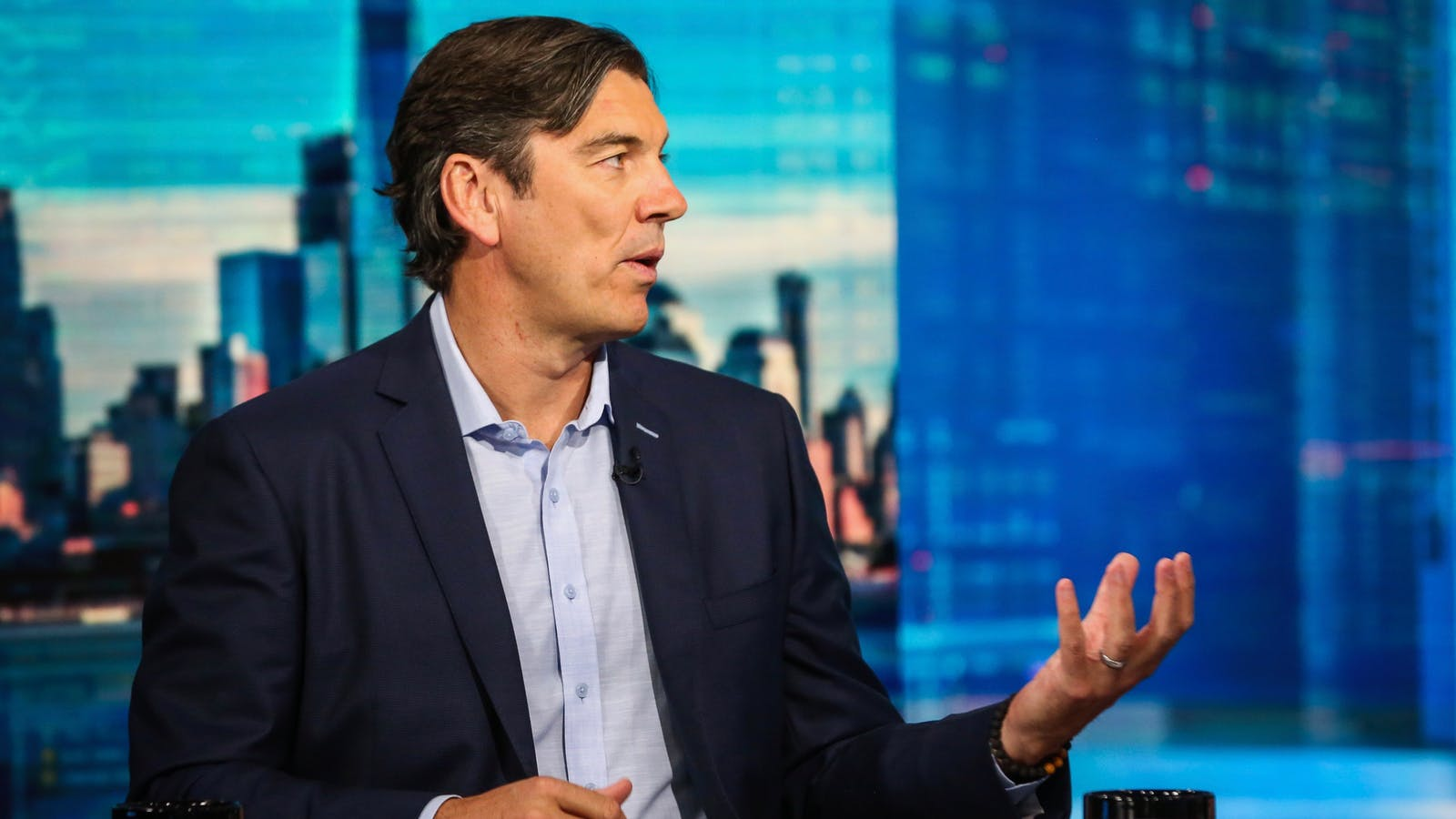 Oath CEO Tim Armstrong. Photo by Bloomberg