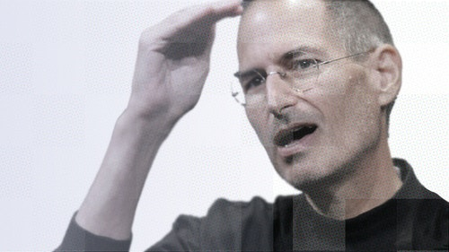Steve Jobs. Photo by Bloomberg