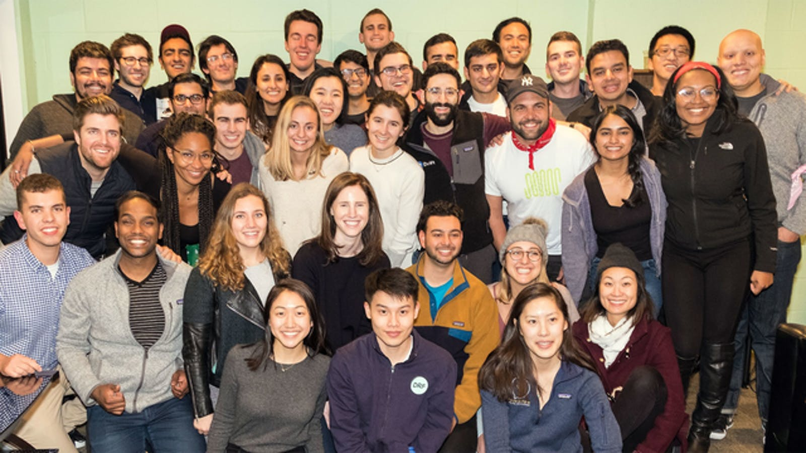 The Dorm Room Fund team. Photo by Dorm Room Fund