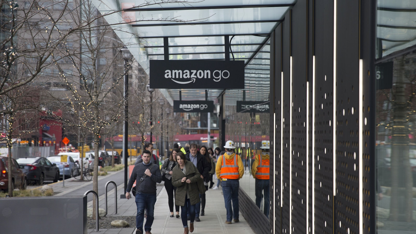 An Amazon Go store in Seattle. Photo by Bloomberg