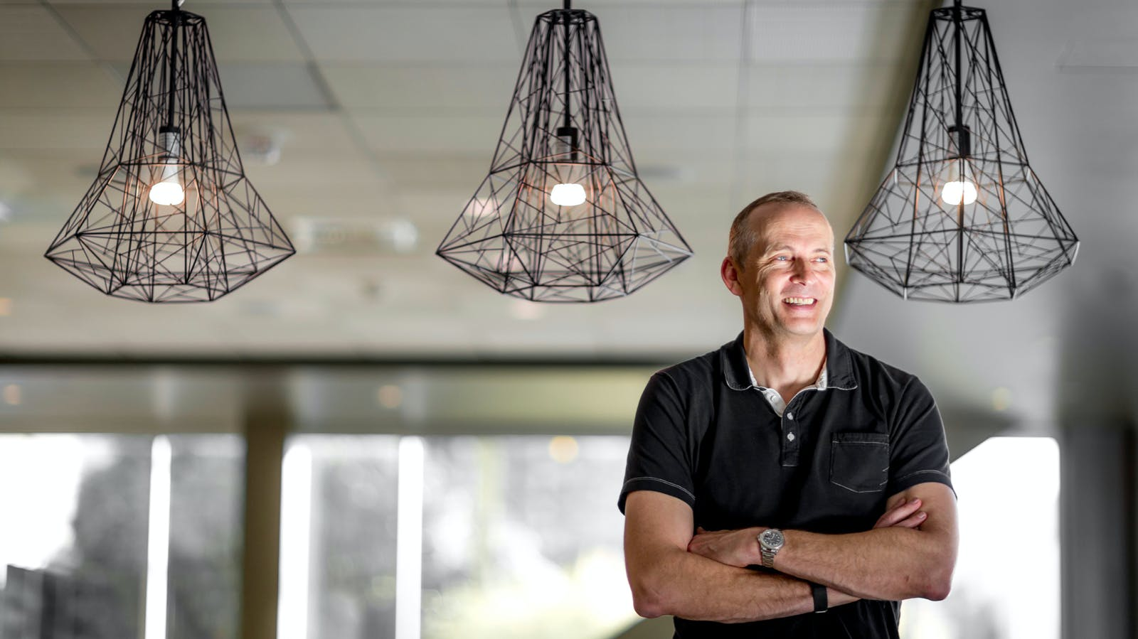 Todd Holmdahl, a corporate vice president with Microsoft's quantum computing project. Photo by Microsoft
