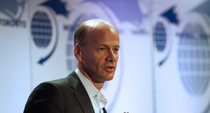 Silicon Valley Bank CEO Greg Becker. Photo by Bloomberg.