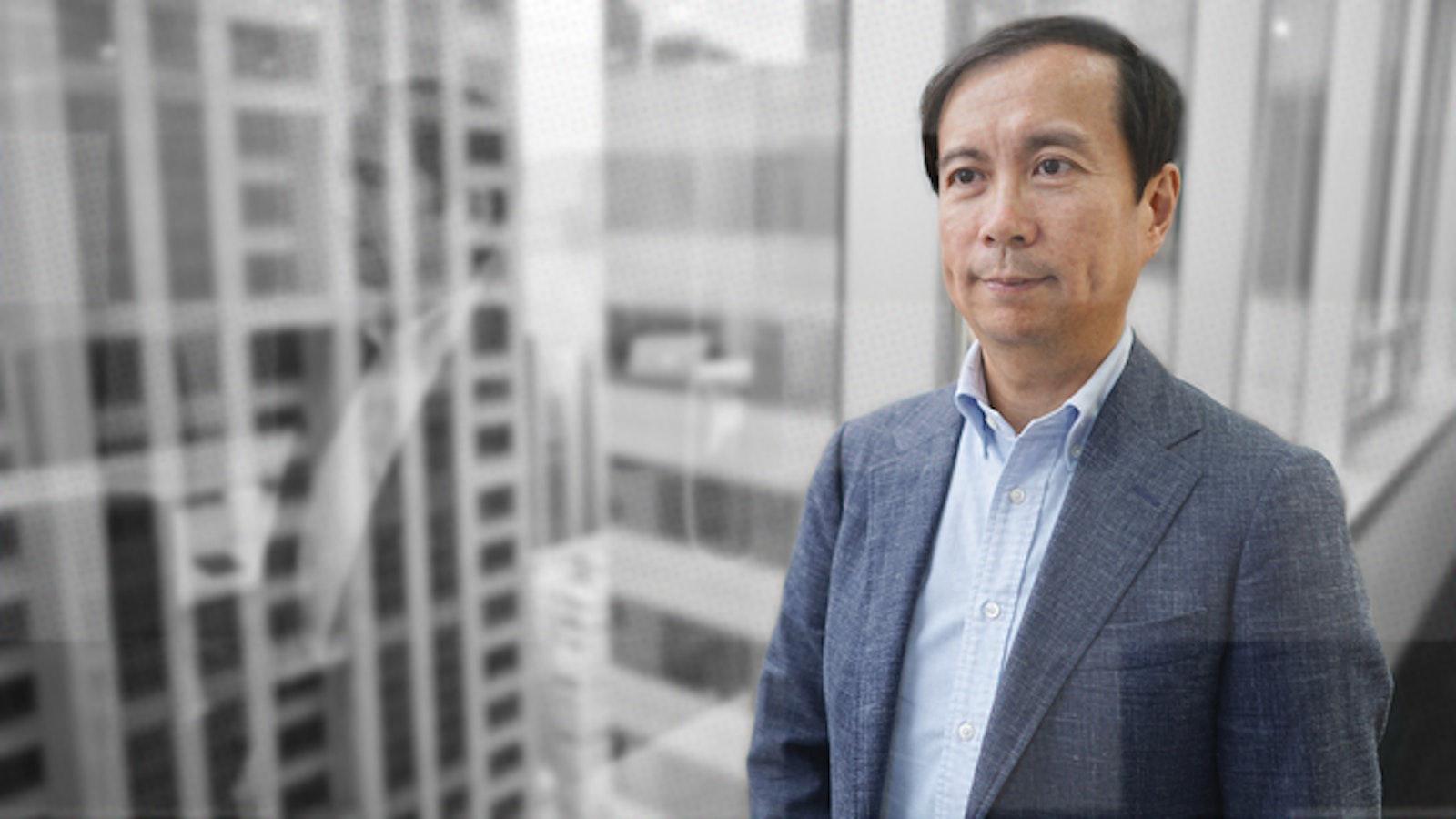 Alibaba CEO Daniel Zhang. Photo by Juro Osawa
