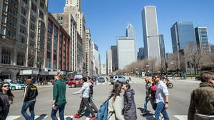 Lyric manages high-end rentals for short stays in Chicago, above, and a dozen other cities. Photo: Shutterstock