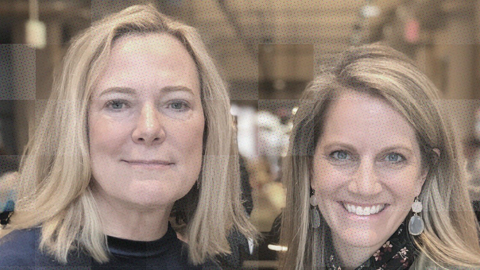 Deborah Jackson (l.) and Andrea Turner Moffitt, co-founders of Plum Alley Investments. Photo: Samantha Casolari