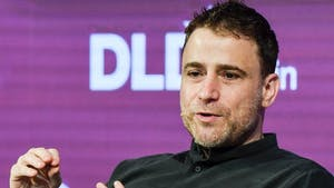 Slack CEO Stewart Butterfield at the DLD conference in Berlin in 2017. Photo: AP