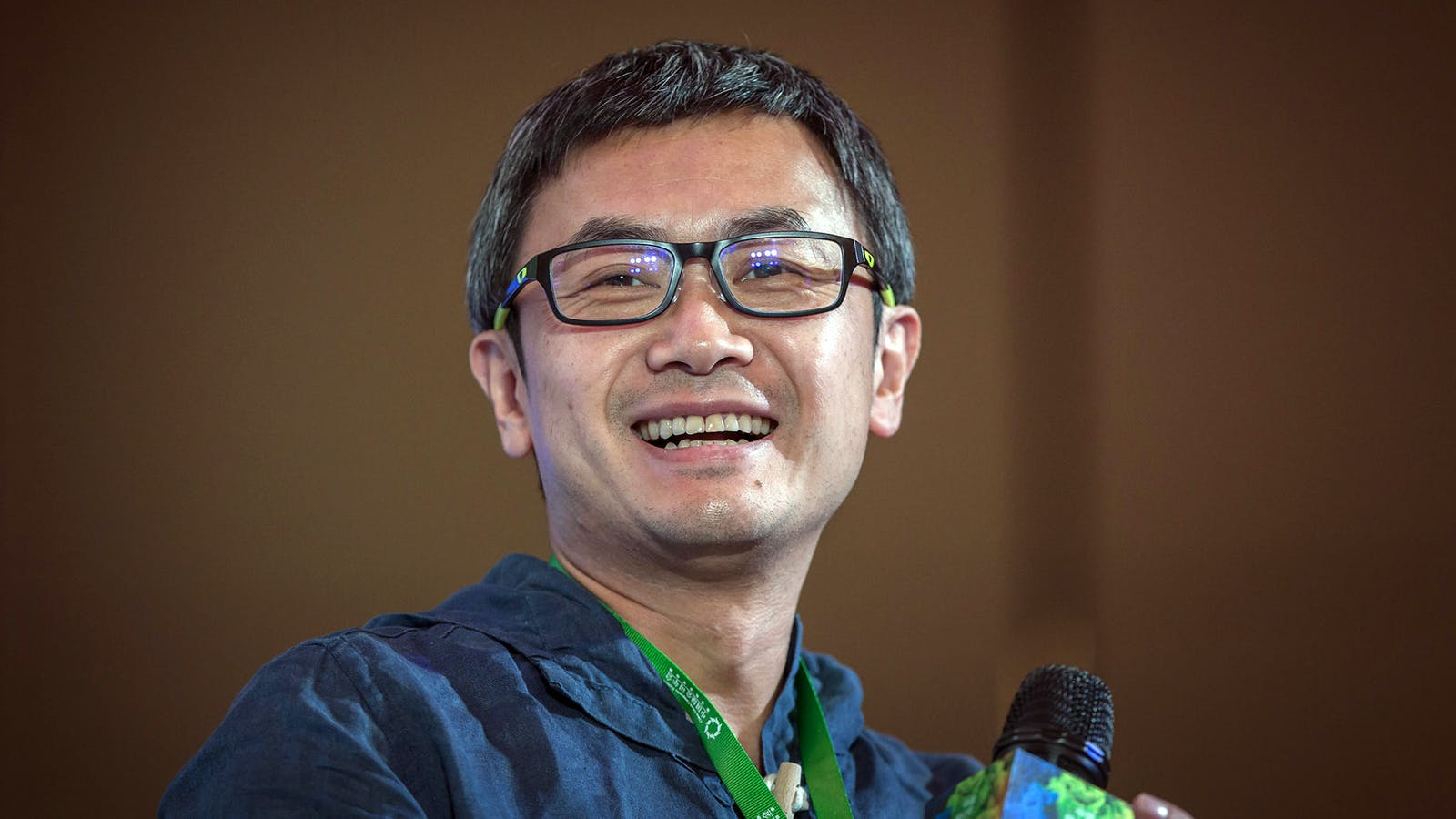 Ucommune founder Mao Daqing. Photo by Bloomberg.