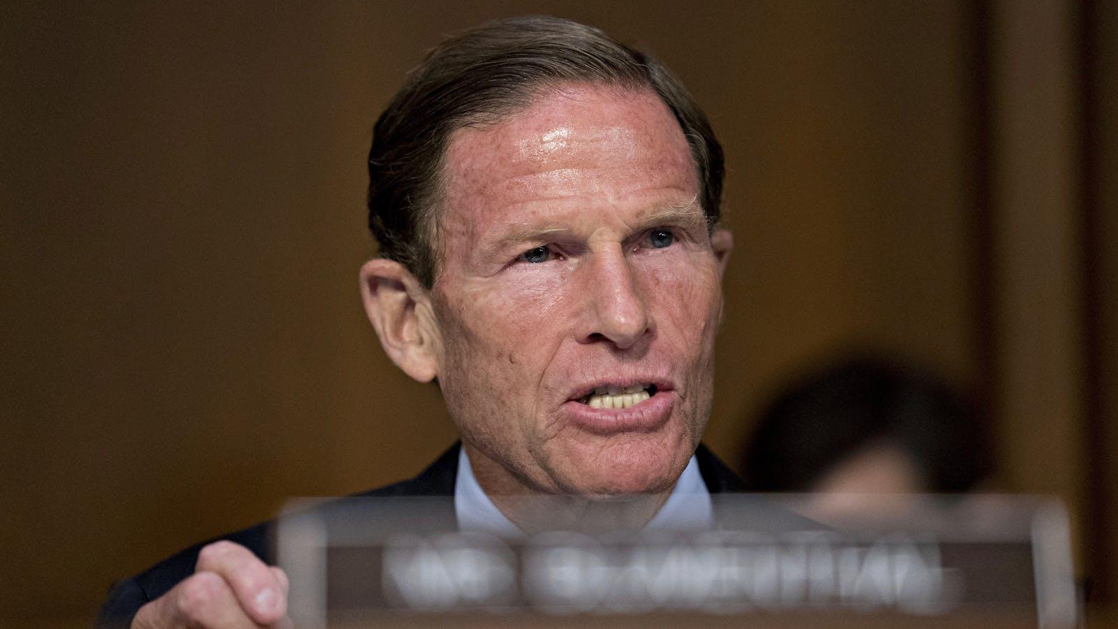 Sen. Richard Blumenthal. Photo by Bloomberg