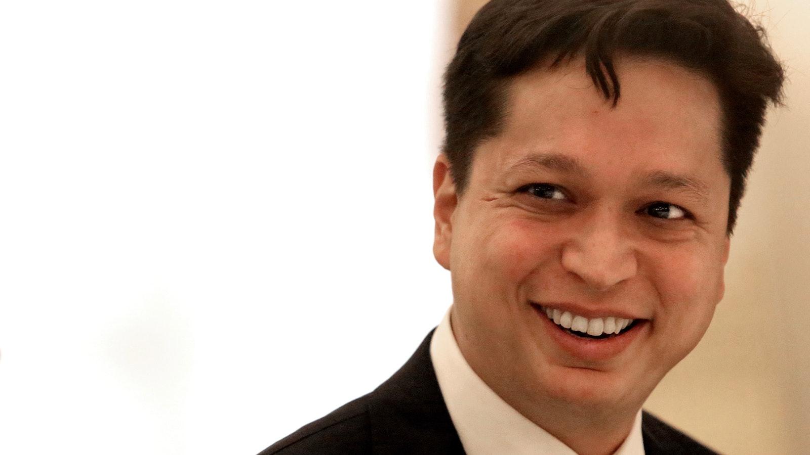 Pinterest CEO Ben Silbermann. Photo by Bloomberg