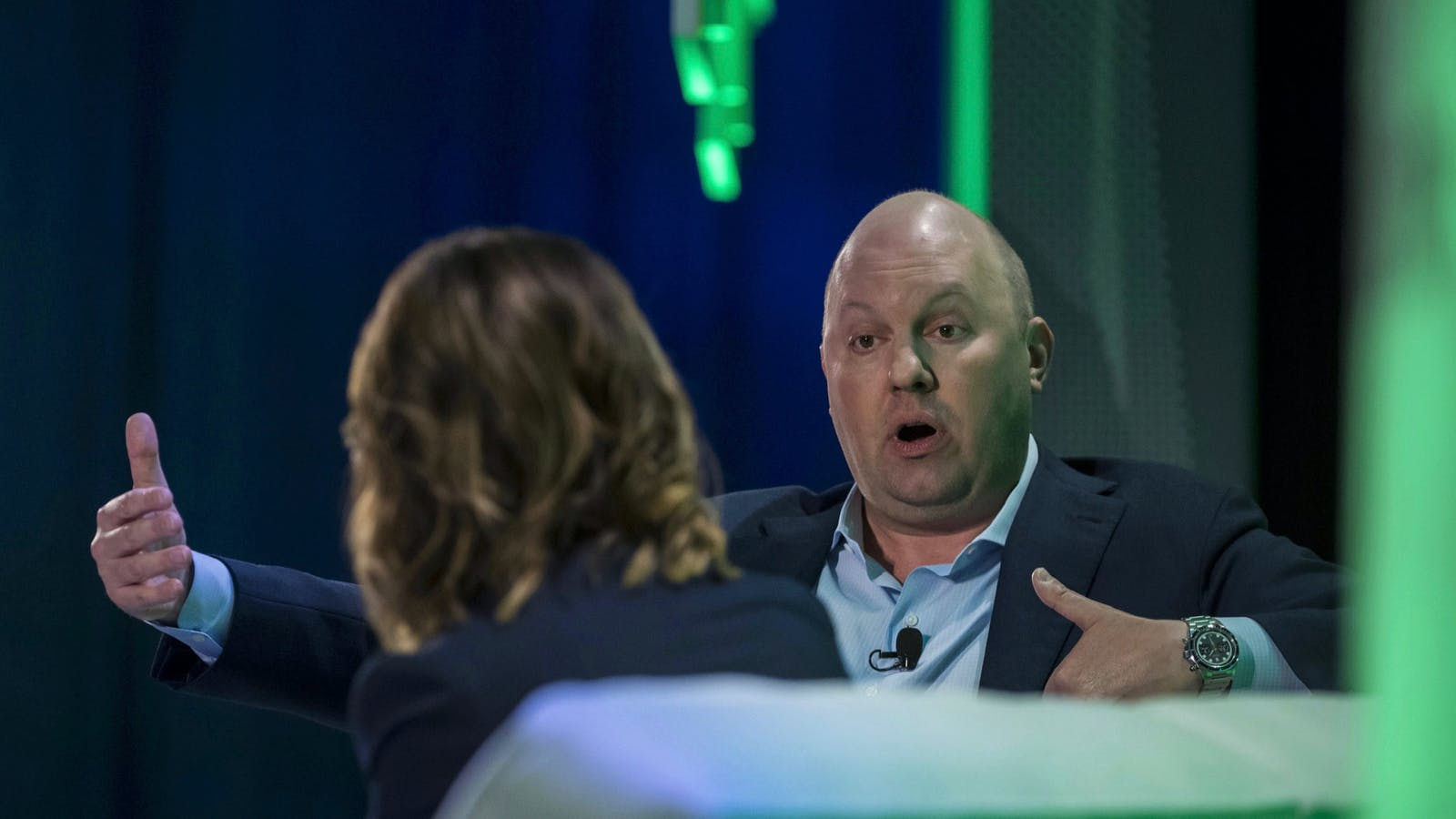 Andreessen Horowitz co-founder and general partner Marc Andreessen. Photo by Bloomberg