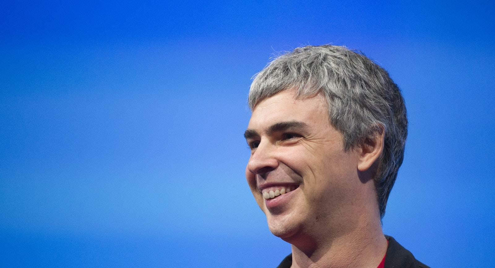 Google CEO Larry Page. Photo by Bloomberg.