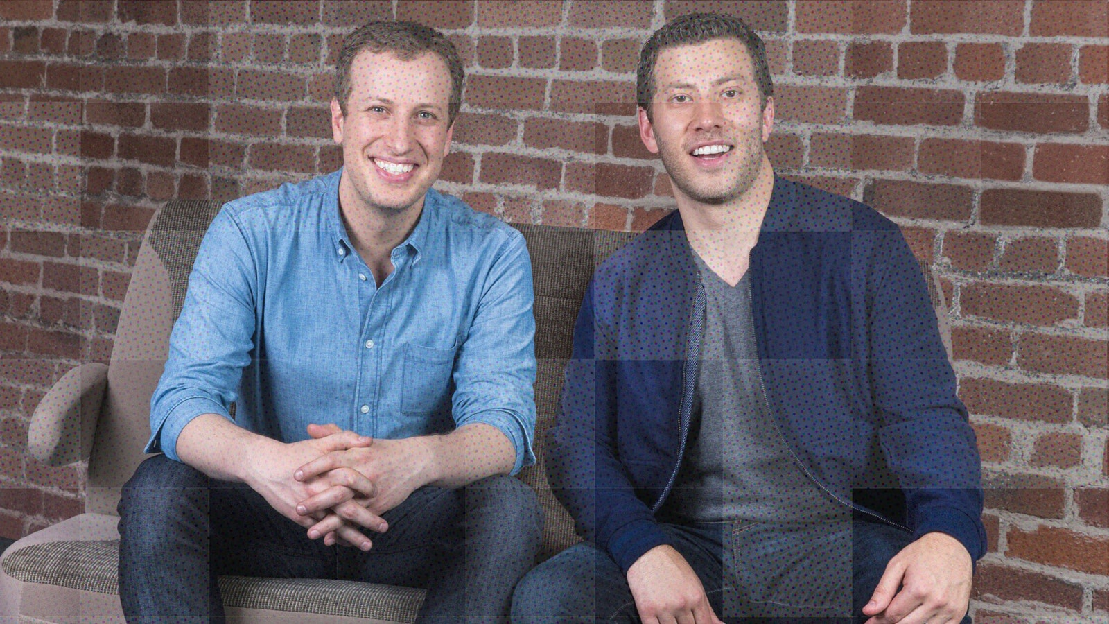 Scoop co-founders Robert (l.) and Jonathan Sadow