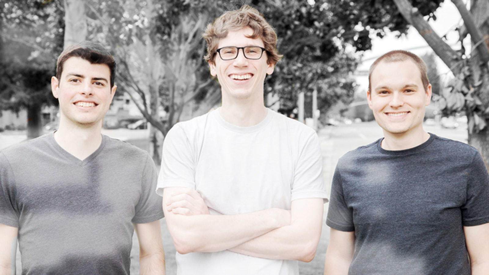 Zapier founders Mike Knopp, Bryan Helmig and Wade Foster. Photo: Zapier
