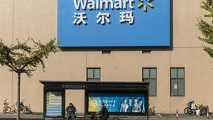 A Walmart store in Shanghai. Photo by Bloomberg