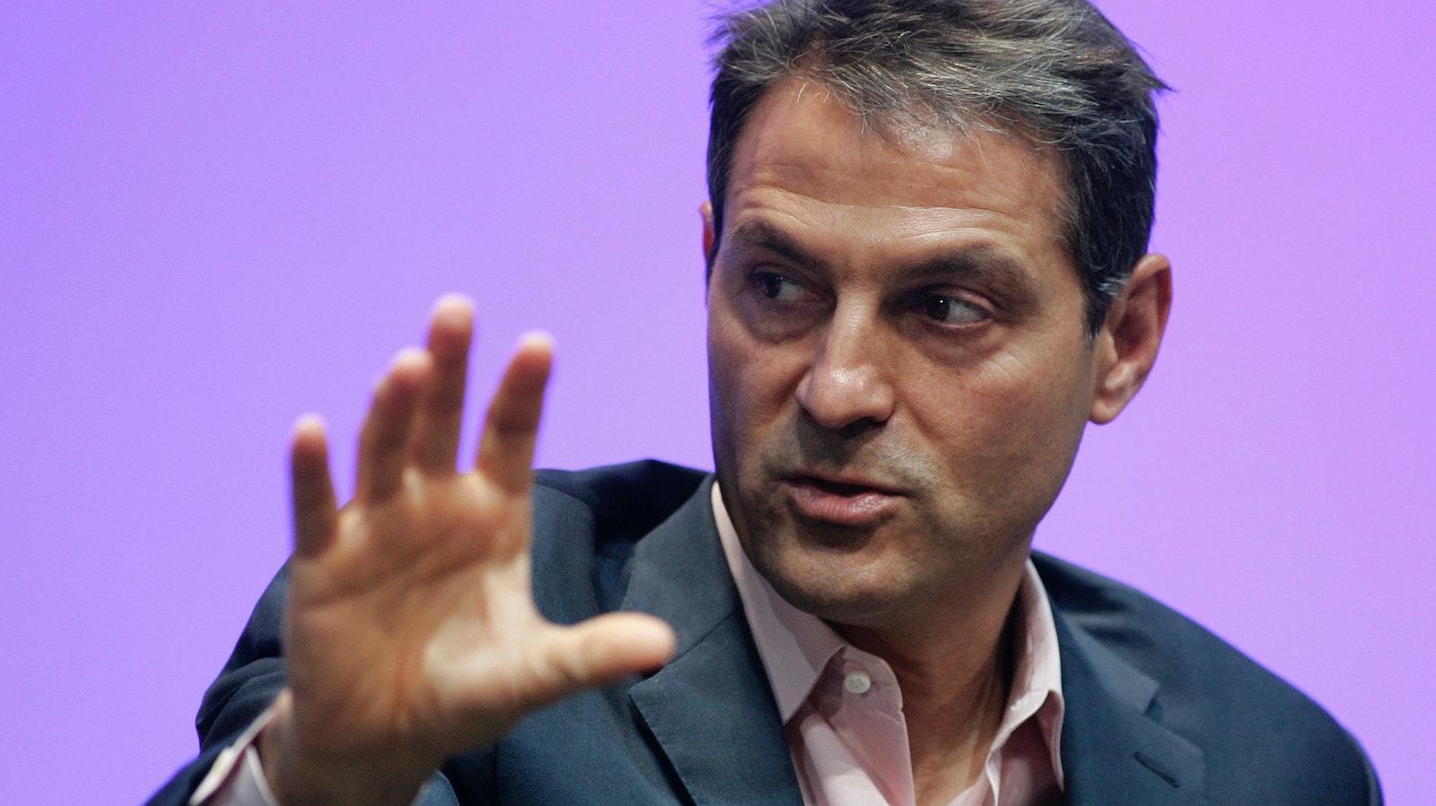 Endeavor CEO Ari Emanuel. Photo by Bloomberg