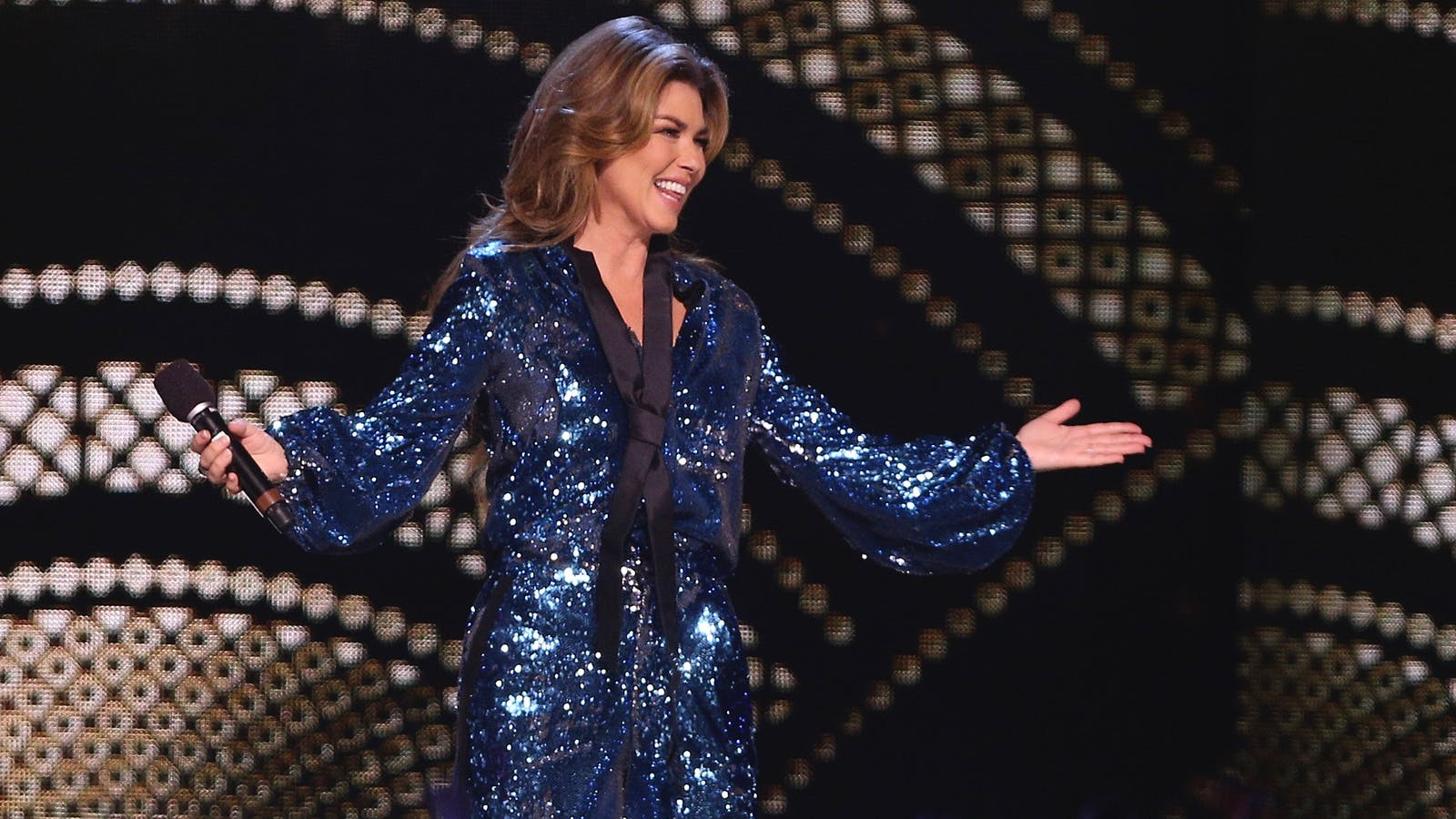 "Shania Twain, who will star in Lionsgate's upcoming movie ""I Still Believe."" Photo by AP"