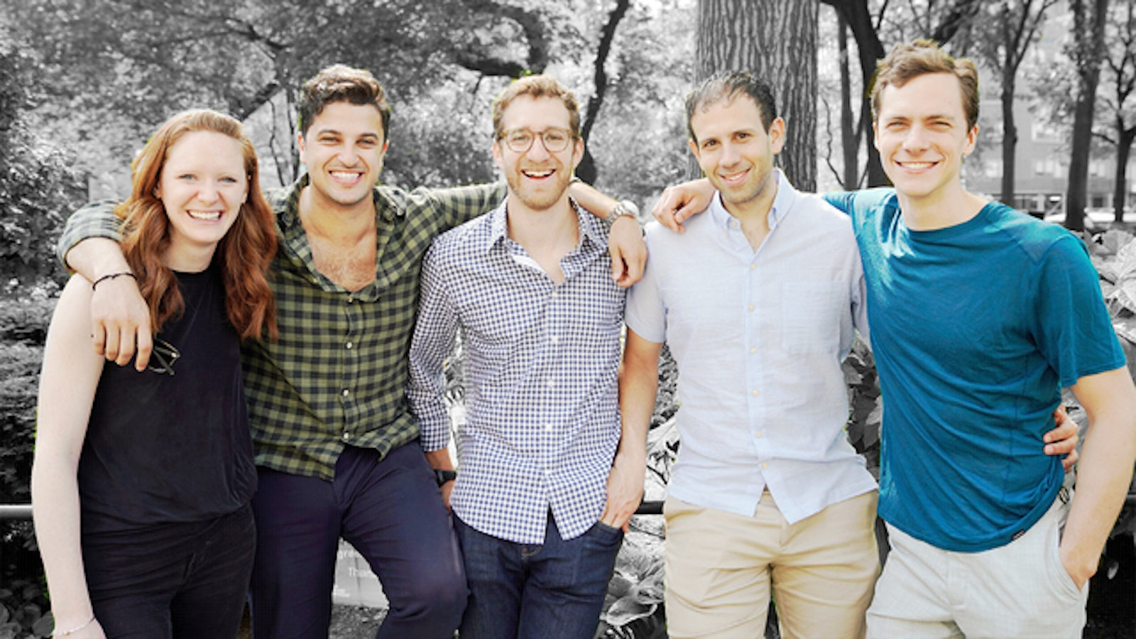 Candid founders Lilla Cosgrove, Bobby Ghoshal; Sam Levine, Nick Greenfield and Spencer Salovaara. Photo: Candid