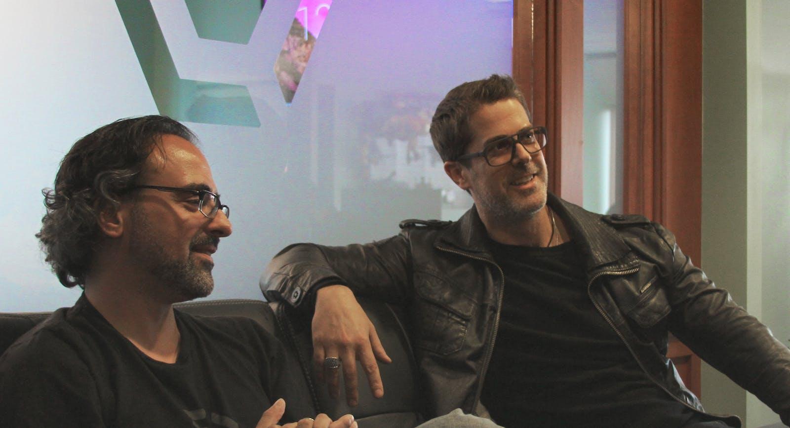 Cyanogen co-founders Steve Kondik, left, and Kirt McMaster. Photo by Cyanogen
