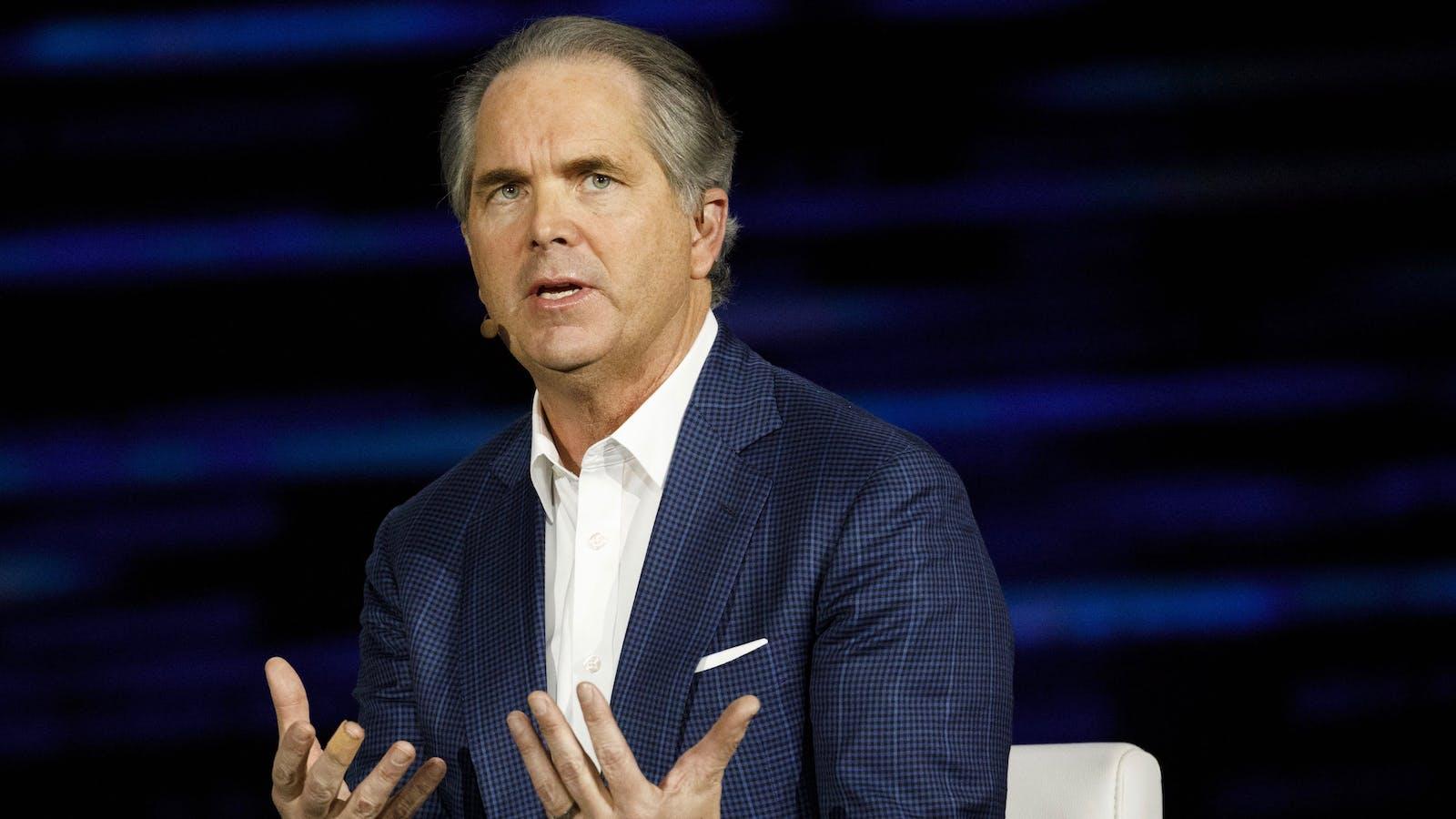 Hulu CEO Randy Freer. Photo by Bloomberg