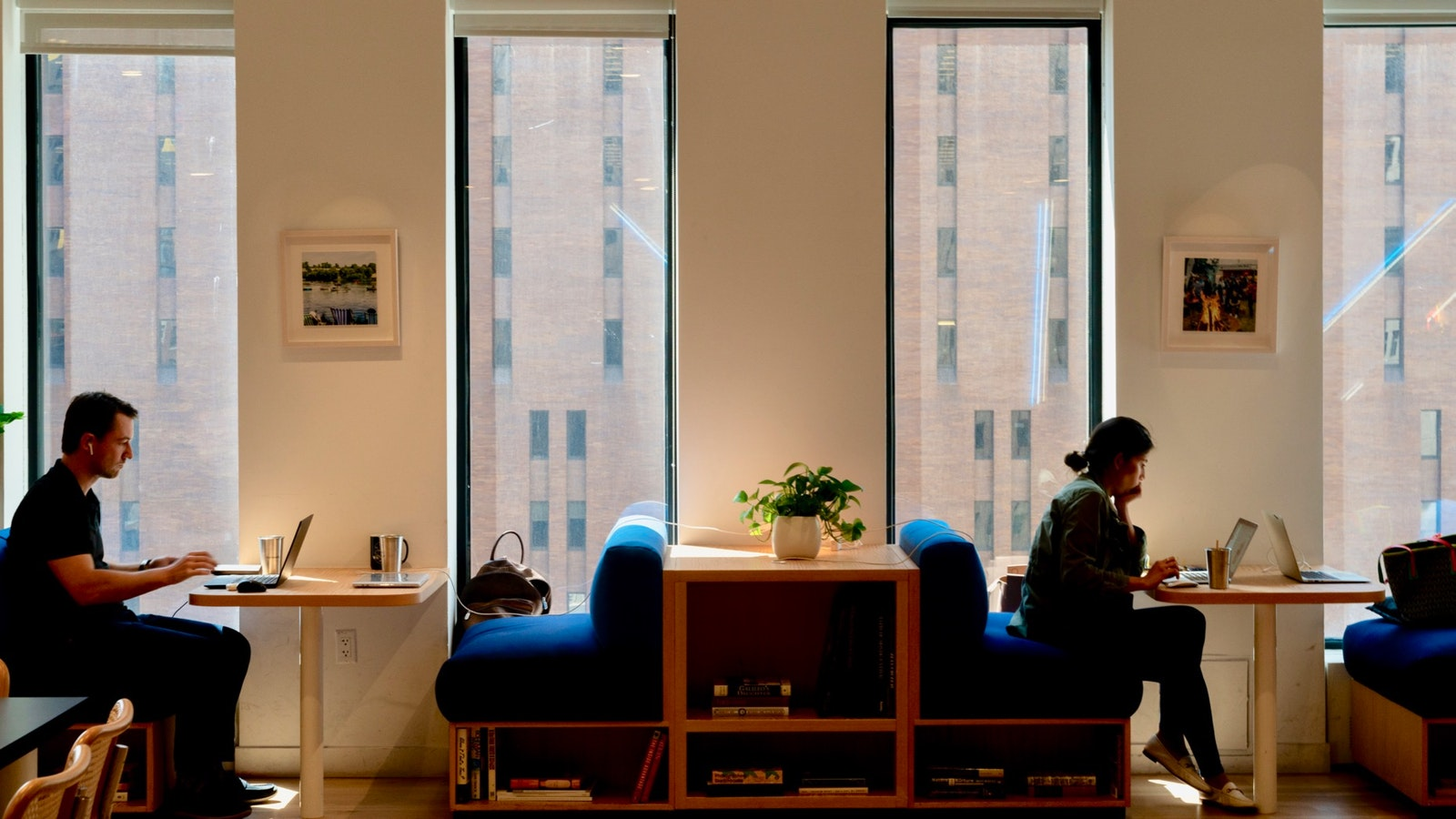 A WeWork office in New York City. Photo: Bloomberg