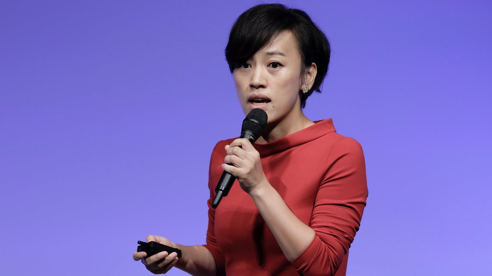 Didi Chuxing president Jean Liu. Photo by Bloomberg