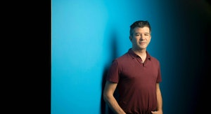 Uber CEO Travis Kalanick. Photo by Bloomberg.